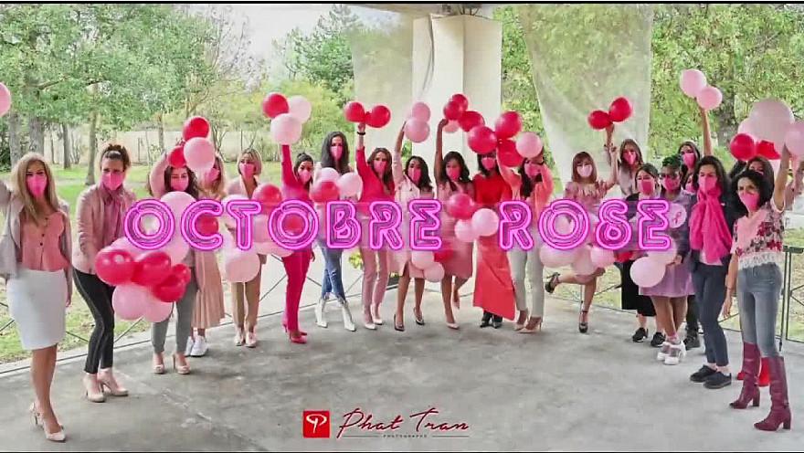 27ème campagne d'Octobre Rose. Colomiers...aussi #octobrerose #cancerdusein #cancer  #rubanrose  #tvlocale.fr