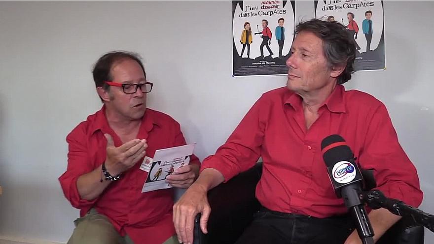 Antoine de Maximy : J'irai mourir dans les Carpates présentation #jidcv #voyager #travel #cinema #tvlocale.fr